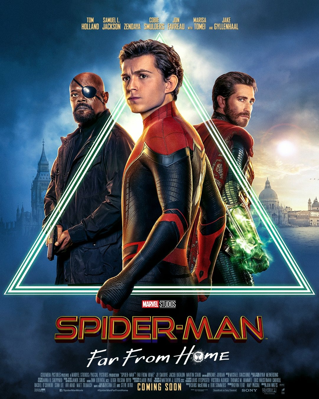 Spider-Man: Far from Home (2019) HDRip – HQ Line Audios [Telugu + Tamil + Hindi + Eng] – 1080p – 720p  – x264 – | 2.2Gb | 1.2Gb