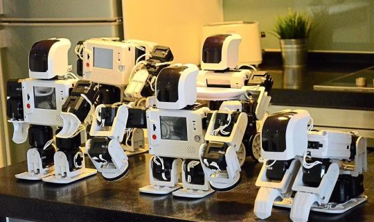 Robots' Places In Teaching Language