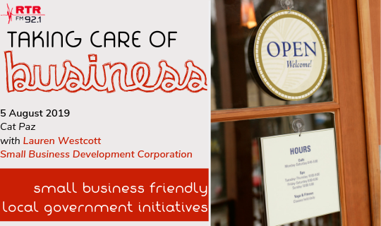 Taking Care of Business: Small Business Friendly Local Government Initiatives
