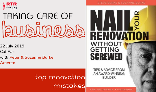 Taking Care of Business: Top Renovation Mistakes
