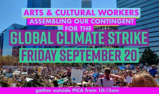 Think Global. Listen Local. Global Climate Strike stories on RTRFM 92.1
