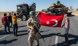 Frontline of Turkey Invasion