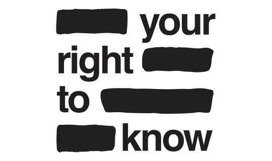 #RightToKnow