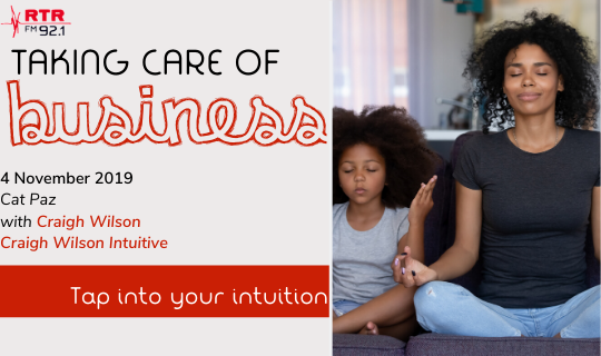 Taking Care of Business: Tap Into Your Intuition