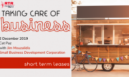 Taking Care of Business: pop up shops and short term leases