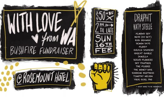 With Love From WA – A Fundraiser for the East Coast Fire Disasters