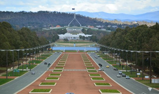 What's Going on in Canberra? 20 April 2020