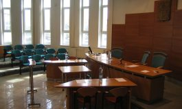 Covid is causing empty court rooms?