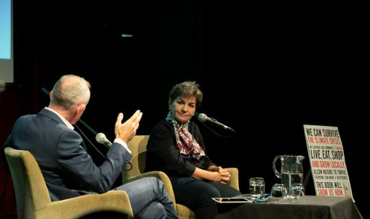 WATCH: Christana Figueres' message of Climate Action to Perth