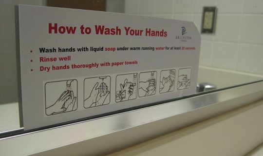 FITTER | HAPPIER: Wash Your Hands
