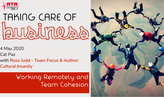 Taking Care of Business:  Working Remotely and Team Cohesion