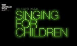 WA Opera presents Singing for Children