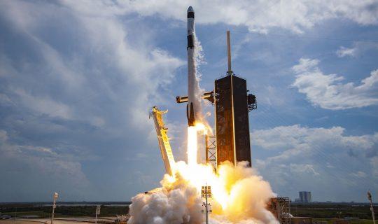 Space X launched: Dr Graham Dorrington