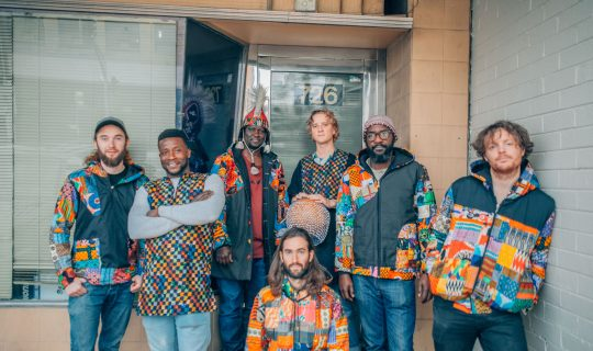 Ausecuma Beats on the Music in Exile Remixed Project