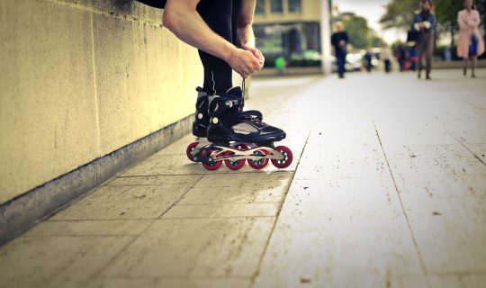 Bladdin' round town with Perth Outdoor Rollerblading Group