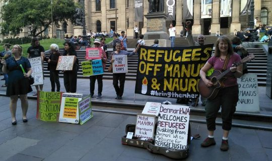 From Denmark to Manus Island and now Fremantle: One woman's demands for refugee justice